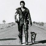 Bild på Mel Gibson i filmen Mad Max 2 Road Warrior.